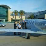 SBD Luxivair FBO Aircraft on Ramp with Passengers
