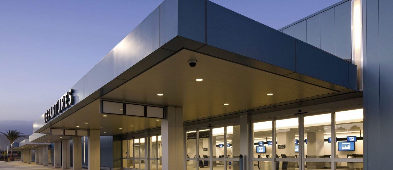 SBD Domestic Airport Terminal Exterior
